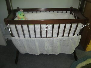 Beautiful Wooden Cradle