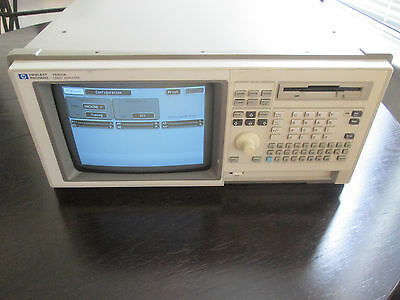 Hp 1661a Logic Analyzer With Start-up Disks And Probe Cables