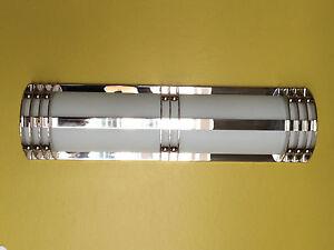 Hemera Lighting Electric Art Deco Chrome Bathroom Sconce Artemide Baldinger E