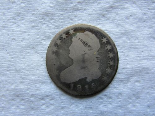 1815 25C Capped Bust Quarter Rare Date