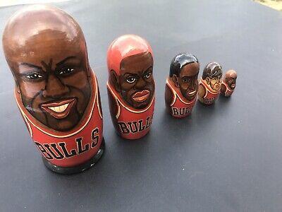 Chicago Bulls Busca Dolls Michael Jordan Dennis Rodman Scottie Pippen