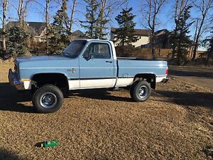 1983 Chevy short box 4x4