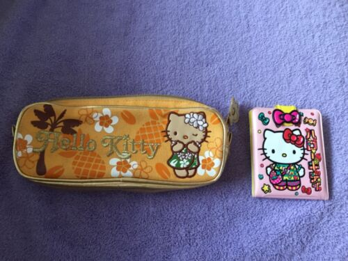 Hello Kitty Pencil Bag and Wallet Lot