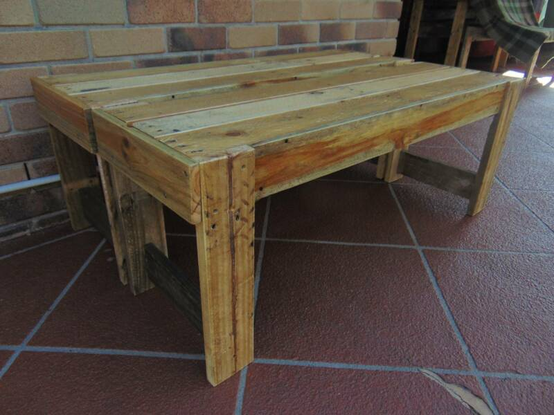 rustic pallet furniture. 2 Rustic Pallet Bench Seats | Other Furniture Gumtree Australia Gold Coast North - Coombabah 1178598103