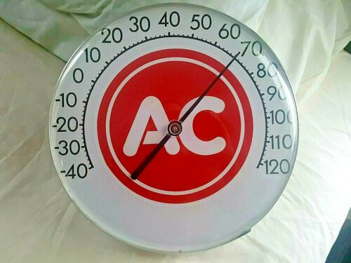 AC Advertising thermometer gas oil Gas Service Station - Racing - Rat Rod