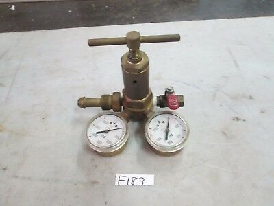 Compressed Gas Regulator Pn 106073 Cga-580 Inlet Connection Used