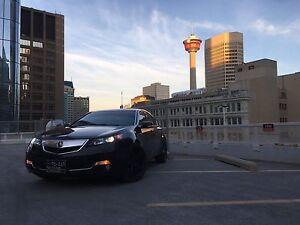 2012 Acura TL SH-AWD Elite package