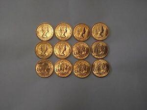 2 X SETS SHOVE HALFPENNY BOARD COINS - SHOVE HA'PENNY -  LAST YEAR MINTED 1967 -