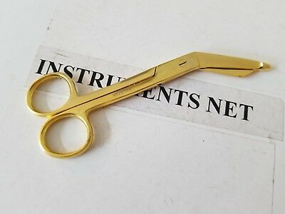 Lister Bandage Scissors 5.5 Full Gold