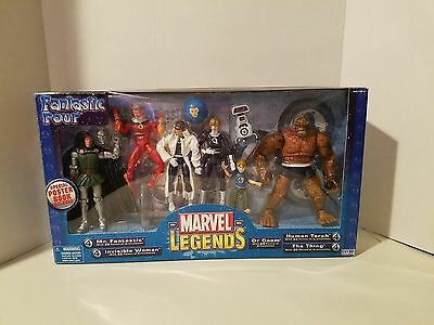 Marvel Legends Fantastic Four 4 Box ToyBiz