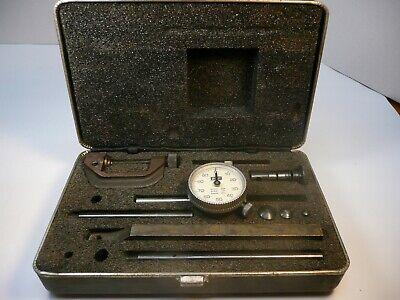 Lufkin 299 Dial Test Indicator Grad .001 Range .200 Tested Complete Set Nice