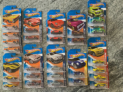 Hot Wheels 26 Car Lot 2010 2011 Models New
