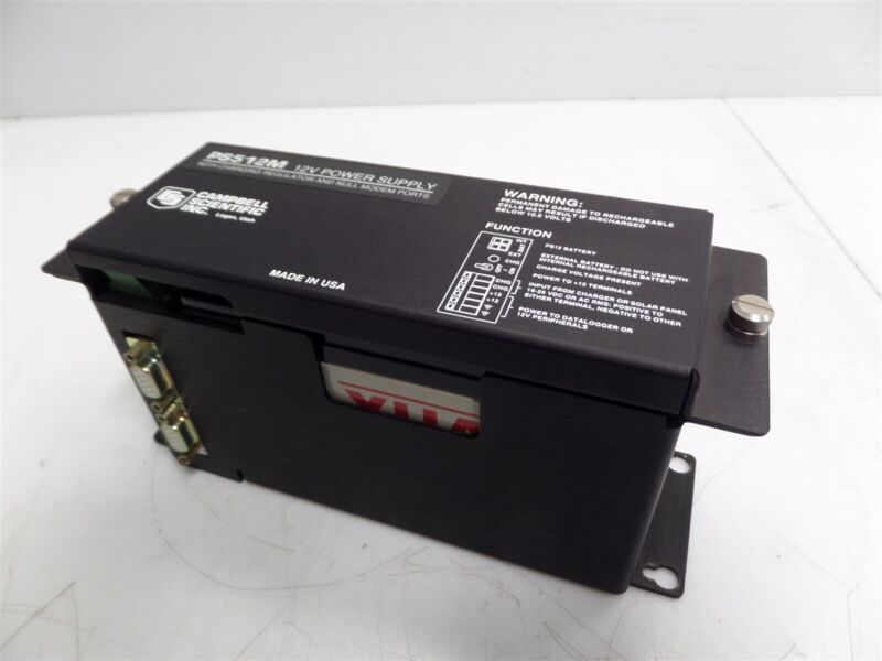 Campbell Scientific Inc. PS512M 12V Power Supply