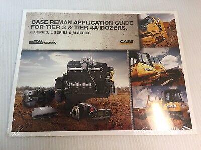 Case Ih Reman Application Guide For Tier 3 Tier 4a Dozers K L M Series