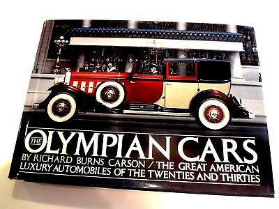Book The Olympian Cars: Classic Packard Lincoln Cadillac Auburn Cord Duesenberg for sale  Shipping to Canada