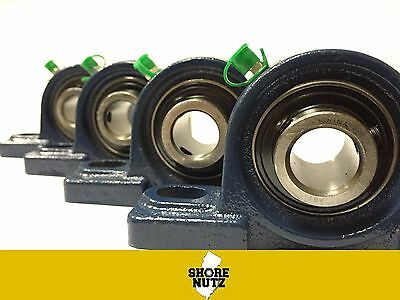 4 Pieces 1-316 Pillow Block Bearing Ucp206-19 Solid Base P206