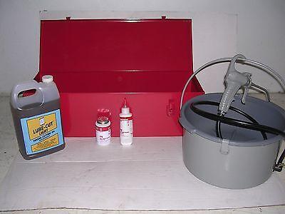 Toolbox Metalcase Oiler Paste 6 12r Diehead 12-2 Ridgid Threader Pipe Wrenches