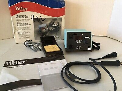 Weller Wesd51 Digital Soldering Station Not Perfect Read Description Store Retur