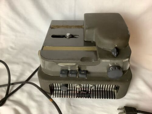 VINTAGE GRAY AUDOGRAPH DICTATING MACHINE