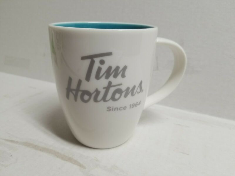 Tim Hortons 2014 Blue Coffee Mug