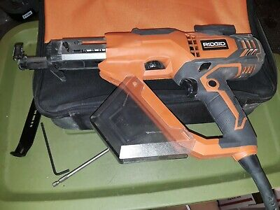 Ridgid 3 In. Drywall And Deck Collated Screwdriver R6791. Dated 2018