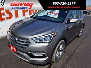 2018 Hyundai Santa Fe Sport 2.4 Luxury ALL WHEEL DRIVE, NAVIG...