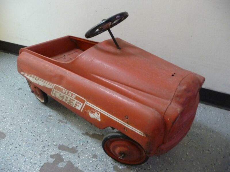 Vintage Pedal Car Parts : Vintage murray pedal car ebay