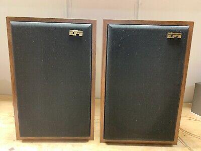 Vintage Pair of EPI M-A70 Speakers Epicure Bookshelf Speakers