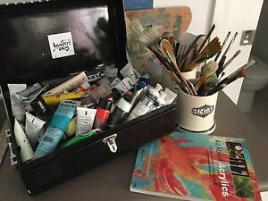 Find your inner artist - paints, brushes, easel and more! Rosebery Inner Sydney Preview