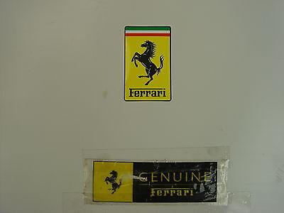 FERRARI  Large Vinyl Badge Sticker