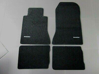 W124 E-Klasse Original Mercedes-Benz Fußmatten Rips schwarz NEU OVP B66309071