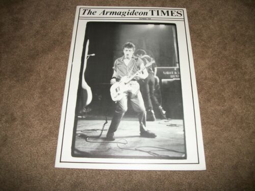 The Clash Armagideon Times Number Two 2 - Fan Club Magazine - EXCELLENT