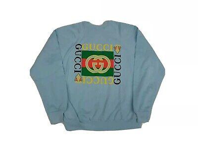 Vintage Deadstock Tultex 80s 90s Bootleg Gucci Sweatshirt Mens Sz XL