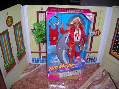 BAYWATCH BARBIE MINT IN BOX, ALL BOXES HAVE SOME SHELF WEAR, CAME OUT IN 80S