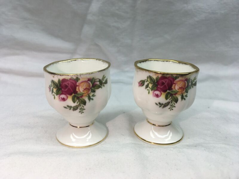 Royal Albert Old Country Roses Set Of 2 Egg Cups