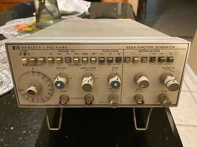 Hp3312a Function Generator 0.1-13mhz Sine Triangle Square Wave Amfmsweep