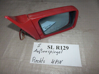 el. Aussenspiegel Seitenspiegel rechts 4 pin R129 SL  Mercedes
