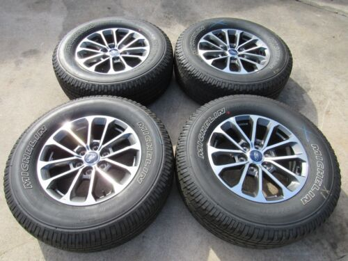 """NEW TAKEOFF 2015 - 2019 ORIGINAL FORD F150 18"""" WHEELS AND TIRES WITH SENSORS"""