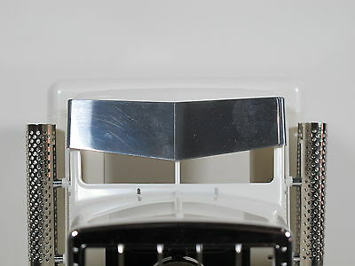 Tamiya RC 1/14 King Grand Hauler Semi Drop Bowtie Front Sunvisor Plate Deflector for sale  USA