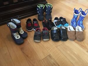 Boys toddler shoes size 5-7 $5 each