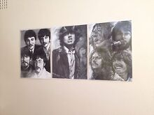 The Beatles and AC/DC drawings Meadowbank Ryde Area Preview