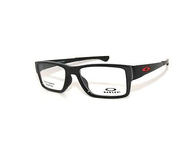 Oakley Airdrop MNP 8121-02 53 Polished Black Authentic Eyeglasses