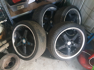Holden commodore 19inch speedy wheels rims ve vz vy vx vt vn vn Coburg Moreland Area Preview