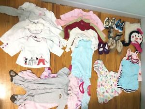 Baby girl clothes 6-9-12 months shoes