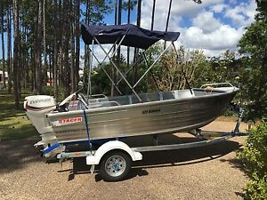 2016 Stacer 429 Rampage 30hp Evinrude engine Coomera Gold Coast North Preview