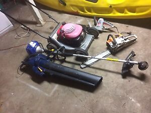 5 friends HONDA , VICTA, chainsaw blower hedger$425 Bray Park Pine Rivers Area Preview