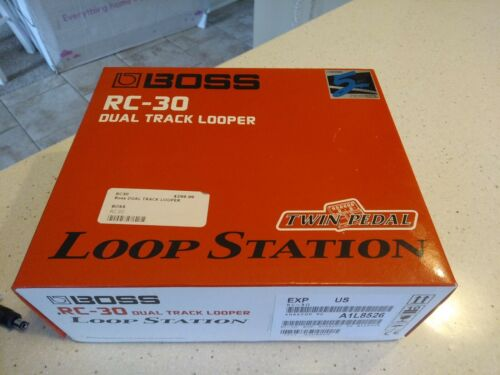 Boss RC-30 Loop Station Twin Stereo Tracks, Built-In Effects Pro I/O - $289.99