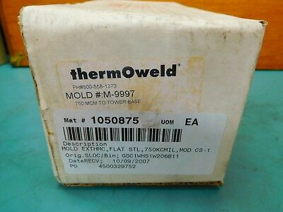 Thermoweld Cs-1 M-9997 Mold 750 Mcm To Tower Base Cart .2x150