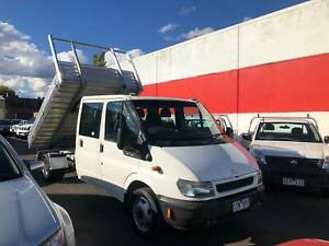 2003 Ford Transit DUAL CAB CAB CHASSIS WITH TIPPER Manual Ute Lilydale Yarra Ranges Preview