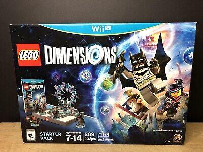 Lego Dimensions Starter Pack Batman 71174 Nintendo Wii U